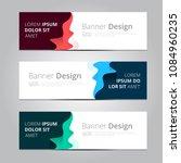 vector abstract design banner... | Shutterstock .eps vector #1084960235