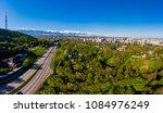 panoramic view of almaty city ... | Shutterstock . vector #1084976249