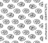seamless stylish pattern of... | Shutterstock .eps vector #1084976291