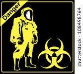 level a hazardous material | Shutterstock .eps vector #108498764