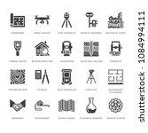 geodetic survey engineering...   Shutterstock .eps vector #1084994111