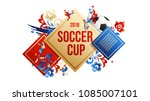 football background place for... | Shutterstock .eps vector #1085007101