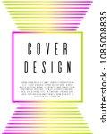 geometric coverage design for... | Shutterstock .eps vector #1085008835