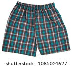 men's boxer shorts isolated on... | Shutterstock . vector #1085024627