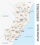 road vector map of the...   Shutterstock .eps vector #1085025821