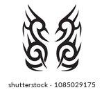 maori tattoo style | Shutterstock .eps vector #1085029175