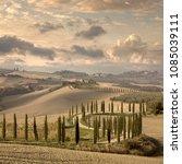 Beautiful Landscape Hills Country Road - Fine Art prints