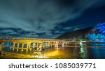 long exposure of the togetsukyo ... | Shutterstock . vector #1085039771