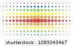 dice icon rainbow colored...