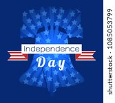 independence day of the usa.... | Shutterstock .eps vector #1085053799