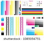 cmyk standard offset vector... | Shutterstock .eps vector #1085056751