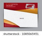 flyer  brochure  billboard... | Shutterstock .eps vector #1085065451