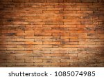 abstract vintage style old... | Shutterstock . vector #1085074985