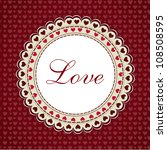 love background. eps 10. | Shutterstock .eps vector #108508595