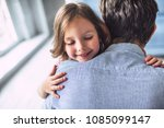 i love you  dad  handsome young ... | Shutterstock . vector #1085099147