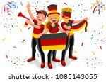 russia 2018 world cup  germany... | Shutterstock .eps vector #1085143055