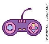videogame controller digital... | Shutterstock .eps vector #1085145314