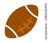 american football   sport icon  ... | Shutterstock .eps vector #1085146994