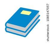 vector exercise book... | Shutterstock .eps vector #1085147057