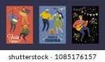 festa junina brazil june... | Shutterstock .eps vector #1085176157