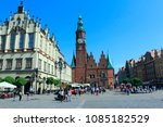wroclaw  poland   april 29 ... | Shutterstock . vector #1085182529