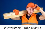 carpenter  woodworker  labourer ... | Shutterstock . vector #1085183915