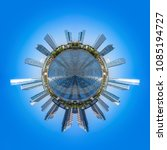 Panoramic Top View City Skyline - Fine Art prints