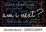 am i next word cloud on a black ... | Shutterstock .eps vector #1085216894