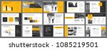 grey  yellow and white... | Shutterstock .eps vector #1085219501