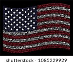 usa text items are composed... | Shutterstock .eps vector #1085229929
