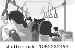 illustration of people using... | Shutterstock .eps vector #1085232494