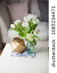interior. room. a bouquet of... | Shutterstock . vector #1085234471
