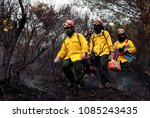 Small photo of Firefighters work to extinguish a fire in Ouranoupoli, Greece on Aug. 9, 2012