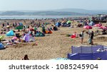 exmouth. a seaside town in...   Shutterstock . vector #1085245904