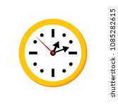 vector clock icon   time symbol ... | Shutterstock .eps vector #1085282615
