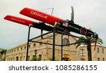 royal navy dockyard  sandy... | Shutterstock . vector #1085286155