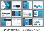 template presentation design...   Shutterstock .eps vector #1085307734