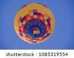 the balloon in the blue sky | Shutterstock . vector #1085319554