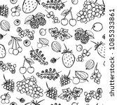 seamless texture depicting... | Shutterstock .eps vector #1085333861