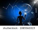 ai  artificial intelligence... | Shutterstock . vector #1085363315