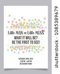little man or little miss ... | Shutterstock .eps vector #1085389679