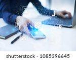 microchip  cpu  processor ... | Shutterstock . vector #1085396645