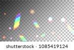 iridescent background.... | Shutterstock .eps vector #1085419124