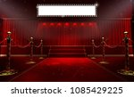 3d rendering of background with ... | Shutterstock . vector #1085429225