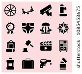 filled other icon set such as... | Shutterstock .eps vector #1085453675