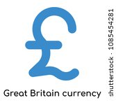 great britain currency icon... | Shutterstock .eps vector #1085454281