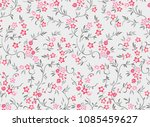 flower fashion texture... | Shutterstock .eps vector #1085459627