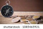 thai baht coins business...   Shutterstock . vector #1085465921