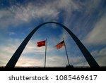 St Louis Arch Landmark Metal...