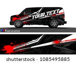 car livery graphic vector....   Shutterstock .eps vector #1085495885